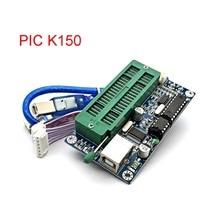 PIC K150 ICSP programcı USB otomatik programlama geliştirin mikrodenetleyici + USB ICSP kablosu