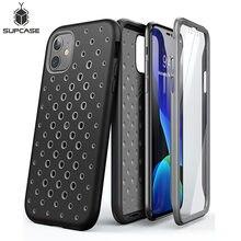 """Dla iPhone 11 Case 6.1 """"(2019) SUPCASE UB Sport Premium Hybrid płynna guma silikonowa + obudowa PC z wbudowanym ochraniaczem ekranu"""