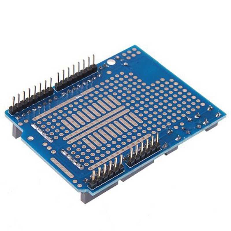 Uno Proto Shield Prototipe Papan Ekspansi dengan Syb-170 Mini Roti Papan untuk Arduino UNO