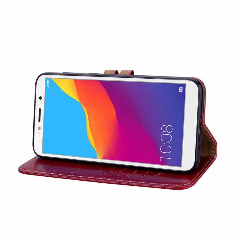 PU Carteira Do Caso Da Aleta por Huawei Honor 10 8 9 Lite V10 10i 5A 6A 6X 7X 8X 8C 8S 8A 7S 7A 7C 20 Pro Y5 2018 Y6 Prime 2019 Tampa