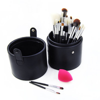 New Style 33 PCs Makeup Brush + Storage Bucket + Miter Puff Combination Makeup Artist Only Brush Suit Beauty Tool