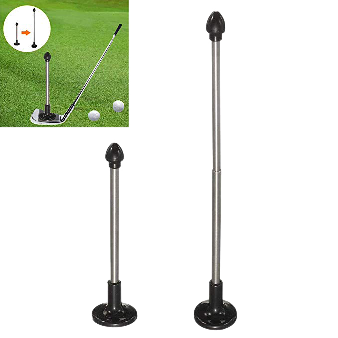 Golf Cutter Direction Indicator Magnetic Golf Club Alignment Stick Correct Golf Swing Aim Lie Angle Tool
