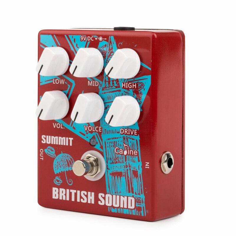 Caline Cp-58 Baker Street Guitar Pedal British Sound Effect Pedal Guitar Accessories Pedal 9v Guitar Part True Bypass Design Low Price