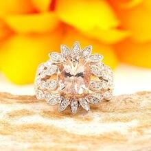 Женское кольцо с большим цветком розы роскошное винтажное для