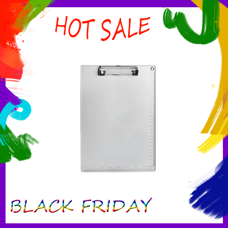 A4 Clipboard  Aluminum Alloy Writing Board Clip File Folder Document Holder
