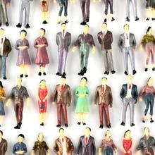 100 Model People Figures Passenegers Train Scenery 1 50 O Scale Mixed Color Pose cheap Plastic 100pcs No eating! 8 years old Unisex China (Mainland) 18400009 Unbranded