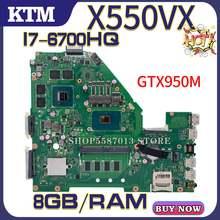 Материнская плата для ноутбука asus fh500v x550vx w50v x550vq