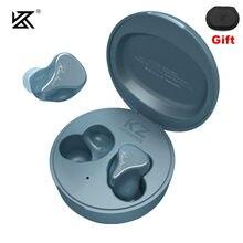 KZ SKS TWS Bluetooth 5.2 Oortelefoon Draadloze Oordopjes hybrydowa gra Koptelefoon Touch Control sportowy zestaw słuchawkowy z redukcją szumów