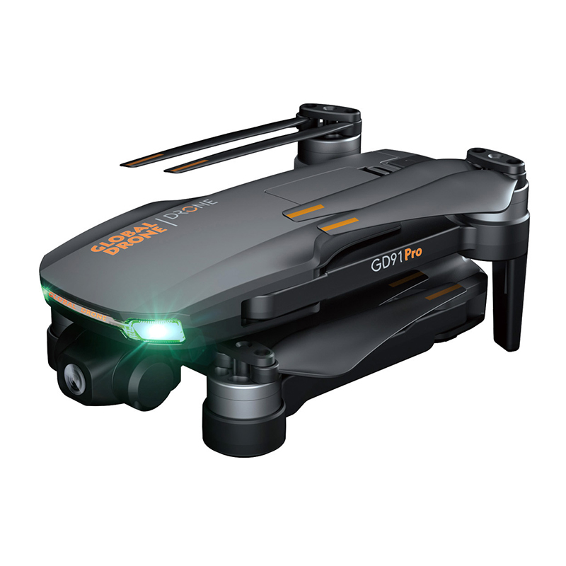 Quadrocopter 4K GPS Drone with Camera 2-Axis Servo Gimbal Anti-Shake RC Helicopter Auto Return Dronex PRO 2020 VS E520S H117S (4K HD)