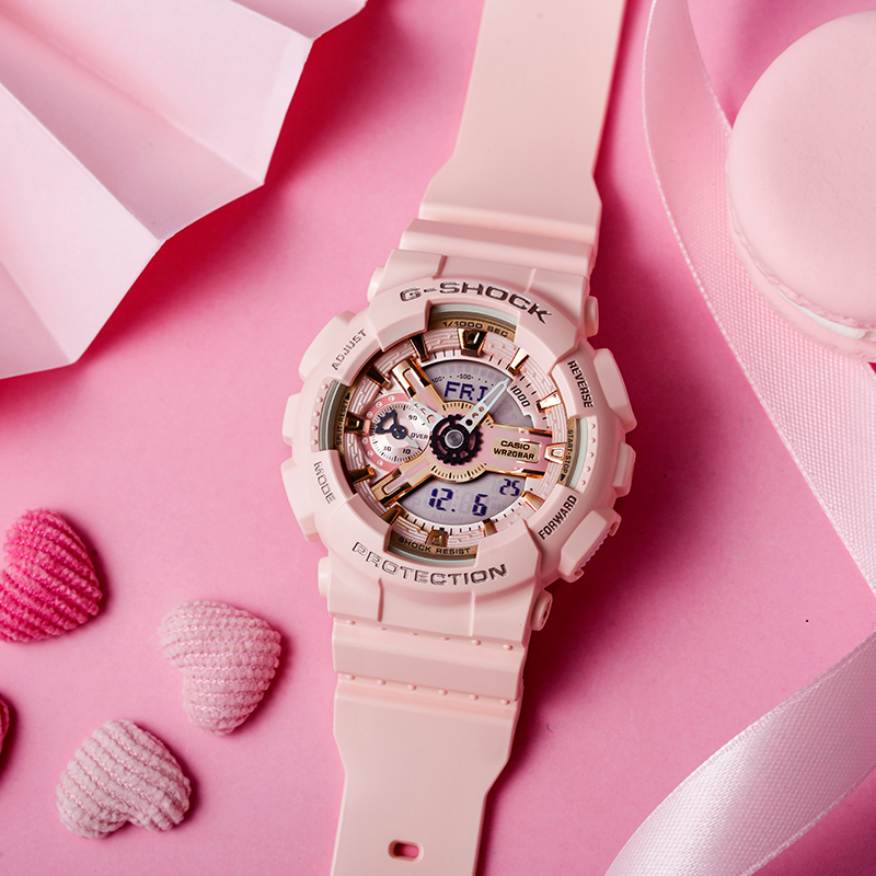 Casio montres à la mode décontracté dames montres GMA S110MP 4A1 - 4