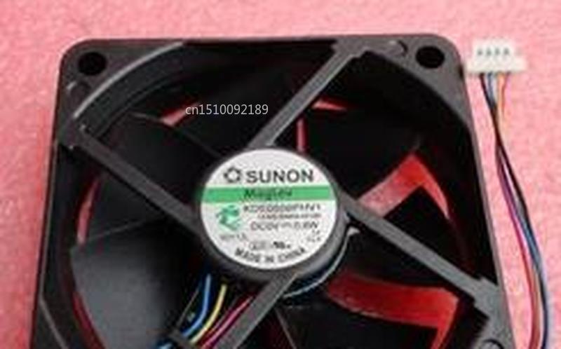 For KDE0506PHV1 DC 5V 0.6W 60x60x15mm Server Cooler Fan Free Shipping