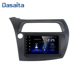 "Image 2 - Dasaita 7 ""Hd Touch Screen Car Android 10.0 Radio Gps Speler Navi Voor Honda Civic Hatchback 2006 2011 autostereo Audio TDA7850"