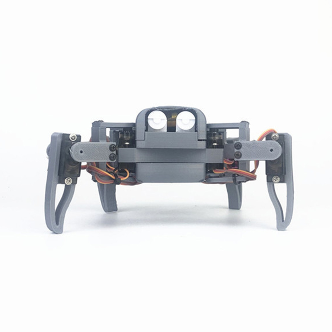 DIY Programmable Four-legged Spider Education WIFI Phone Can Control Robot Kit For Nodemcu