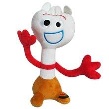 10 шт./лот 25 см Forky плюшевые игрушки кукла фильм Pixar История игрушек 4 Forky плюшевые мягкие с наполнением игрушки для детей рождественские подарки для детей