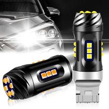 2 шт автомобильные светодиодсветодиодный лампы canbus 7440 21