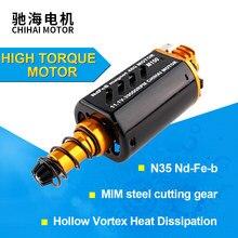 Chihai M150 CHF-480WA-8514T CNC de alta velocidade do motor Do Motor AEG Ver.2 17TPA do motor Caixa de Velocidades Eixo Longo para blaster brinquedo gel