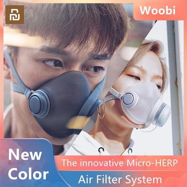 עבור youpin Woobi Dustproof אנטי ערפל ונושם פנים מסכות 96% סינון מסכות תכונות