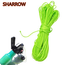 60/100Meter Archery Bow Fishing Rope Spincast Reel Line Acrylic Outdoor Shooting Camping Capature Bowfishing Accessories