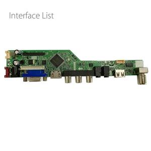 Image 3 - T.SK105A.03 T.SK106A.03 Universal LCD LED TV Controller Driver Board TV/PC/VGA/HDMI/USB Interface 8.9 42 inch Matrix Russian