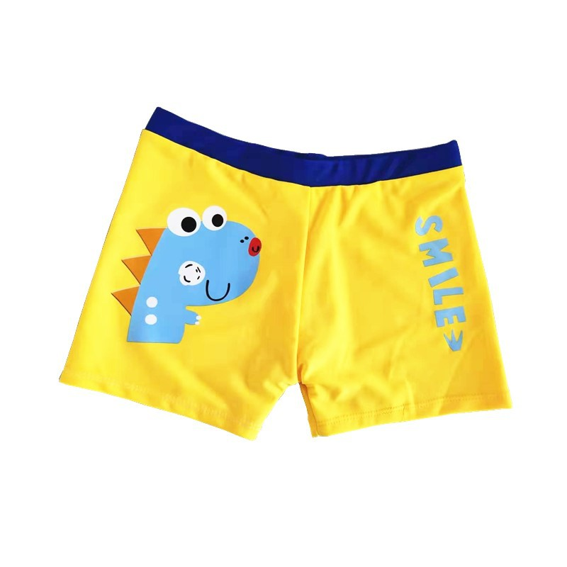 New Style BOY'S Swimming Trunks Send Swimming Cap Superman Pattern Size Code Boy Fashion Soft Hot Springs Bathing Suit Swimming