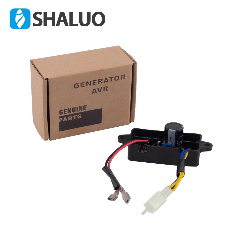 2kw-3.5kw однофазный бензиновый генератор регулятор напряжения