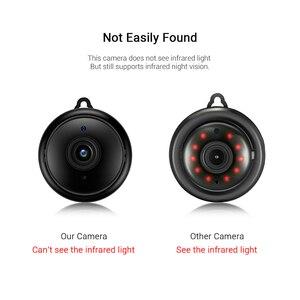 Image 5 - Không Dây Mini Camera IP 1080P HD Hồng Ngoại Nhìn Đêm WIFI Nhỏ Nhà Giám Sát An Ninh WiFi Bé Màn Hình Máy Ảnh