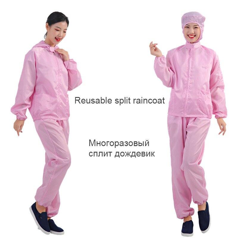Impermeable One-piece Raincoat Men Raincoat Waterproof Reusable Travel Women Rain Coat Blouse Jetable Lightweight Raincoat MM60Y(China)