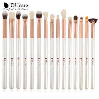 DUcare Make up Brushes Set Brush Makeup Brush 15pcs Eyeliner Eyebrow Shader Eye shadow Blending Brushes Natural-synthetic Hair 2