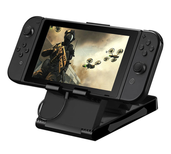 10 pcs High Quality Portable Height Adjustable Stand type Bracket for Nintendo Switch Console