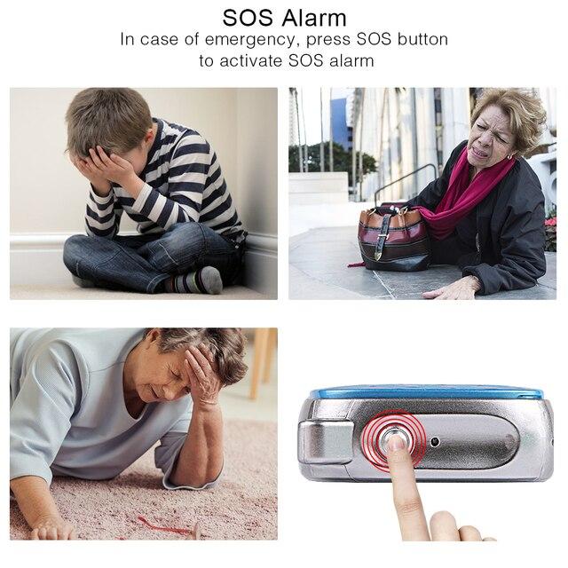 Mini GPS Tracker Children SOS Voice Monitor Geo-fence Pet Tracker 3