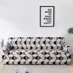 Image 5 - Floral Sofa Covers for Living Room Elastic funda sofa Sofa Slipcovers Sofa Towel Couch Cover fundas sofas con chaise longue 1PC