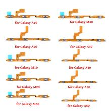 Power Flex For Samsung Galaxy A10/A20/M10/M20/M30/A30/M40/A40/A50/A60/Volume But