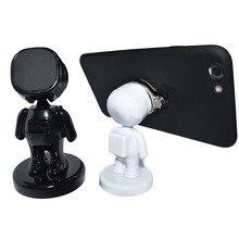 Doll Robot bracket mobile phone holder magic sucker car smart tablet