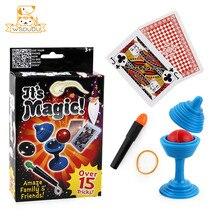 Детский волшебный набор головоломок, игрушки-фокусы, простые реквизиты для детей, забавные семейные вечерние товары, классические подарки, ...
