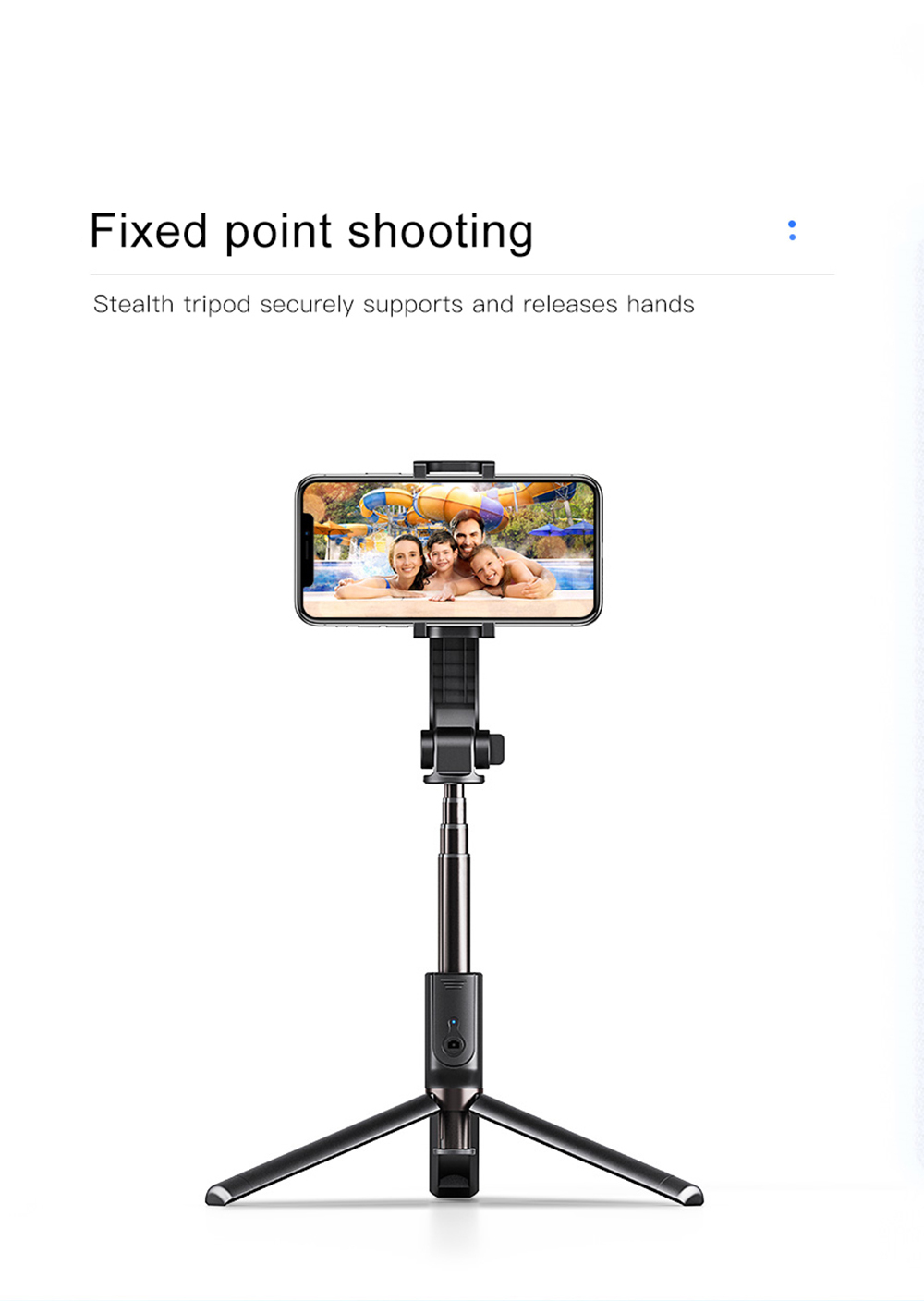 Bonola 3 in1 Handheld Gimbal Stabilizer Smartphone Selfie Stick Tripod For iOSAndroid Video Stabilizer For iPhone11ProSamsung (6)