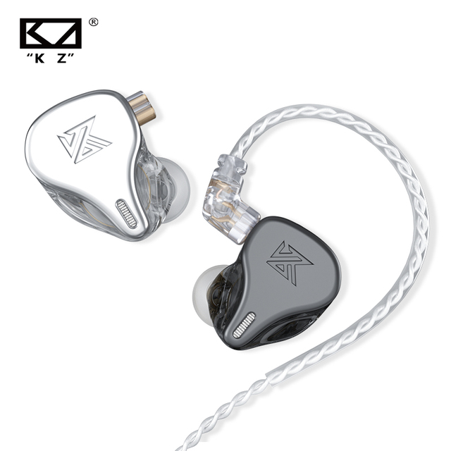 KZ DQ6 3DD In-Ear Earplug Dynamic Driver Device Bass HiFi Music Sports High Resolution Noise Cancelling Headphone ZSN PRO CS16
