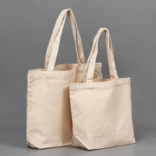 Tote-Bag Blank Canvas Grocery Eco Custom Reusable Wholesale Beach Solid Simple