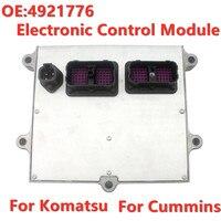 NEW ECU Electronic Control Module For Komatsu Excavator Cummins QSB6.7 Include Programming 4921776 600 461 1100 GENUINE