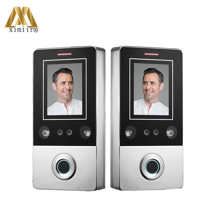 Face Access Control Waterproof IP68 Standalone Facial Recognition Access Controller CF1 With RFID Card Reader 10pcs Cards