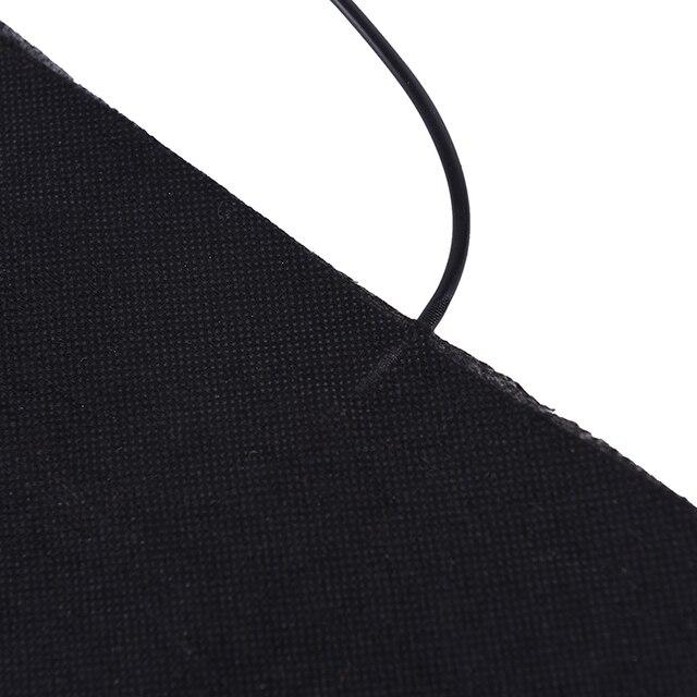 1 pièces grand 30X30cm USB chaud en Fiber de carbone coussins chauffants
