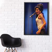 British soul singer Amy Winehouse Poster Home Decoration Stickers & Posters  Poster Stickers цена 2017