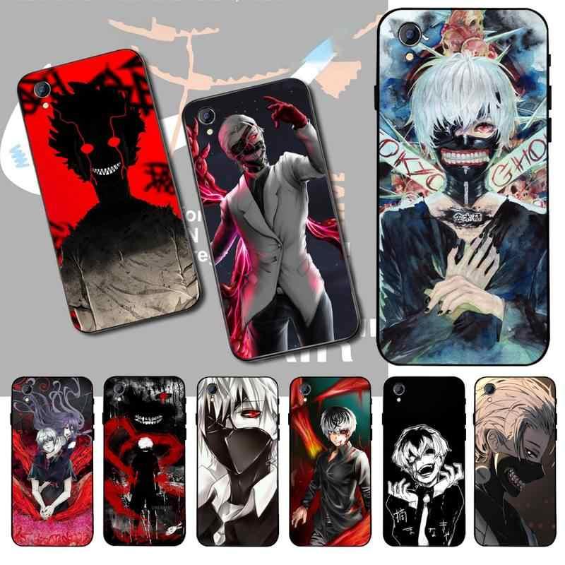 PENGHUWAN ciemny Anime Haise Sasaki Tokyo Ghoul chłopiec telefon etui na Vivo Y91c Y17 Y51 Y67 Y55 Y93 Y81S Y19 Y7S przypadku