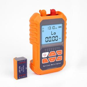Image 2 - Mini 4 in 1 Multifunction Optical Power Meter Visual Fault Locator Network Cable Test optical fiber tester 5km 15km VFL