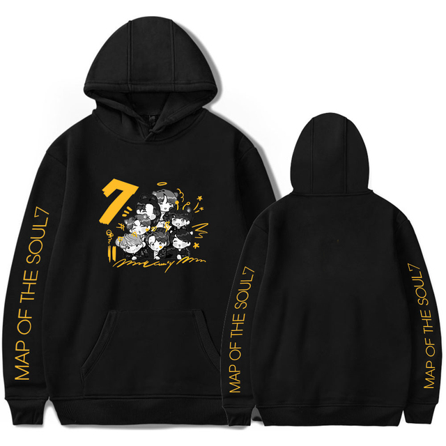 MAP OF THE SOUL 7 THEMED HOODIE (6 VARIAN)