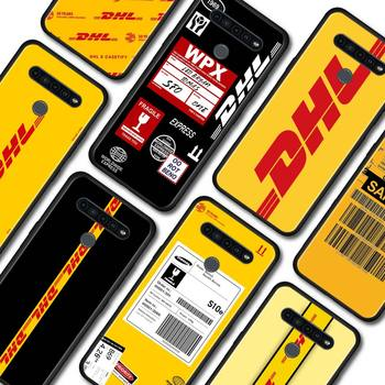 Telefon etui na LG K40 K40s K41s K50s K51s K61 G6 G7 G8 ThinQ Q51 Q60 Q61 Q70 pokrywa DHL Express czarny miękki powłoki tanie i dobre opinie CN (pochodzenie) Aneks Skrzynki TPU Soft Phone Case Matowy Zwierząt Jednorożec Floral Marmur W stylu rysunkowym Odporna na brud
