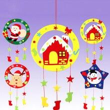 Сделай сам Рождество Ветер Колокольчики Наборы Обучающие Игрушки Ремесло Наборы Рождество Украшение Сделай сам Ветер Колокольчики Для Детей Ребёнка