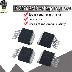 5 шт. постоянного тока в переменный преобразователь постоянного тока LM2577S-ADJ LM2575HVS-5.0 LM2596S-5.0 LM2596S-ADJ LM2576S-5.0 LM2576S-ADJ-263 LM2596 LM2576