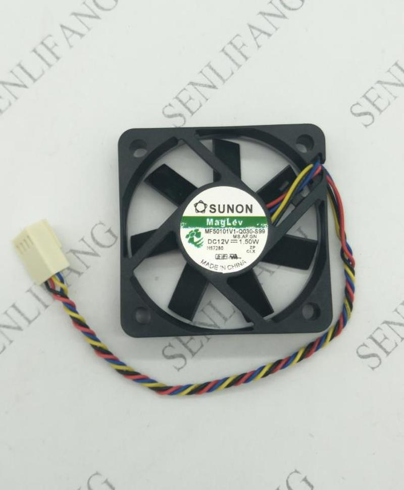 Original MF50101V1-Q030-S99 5010 12V 1.50W 5cm Four-wire PWM Cooling Fan Free Shipping