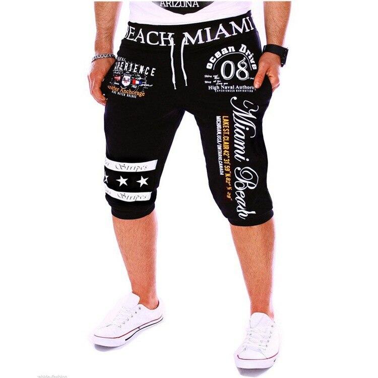 Digital Printing Sports Capri Pants 2019 Hot Sales Men Casual Fashion Shorts Dk11