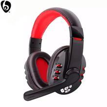 OVLENG auriculares V8 1 por encima de la oreja para Gamer, Auriculares auriculares inalámbricos con Bluetooth con micrófono y botón LED